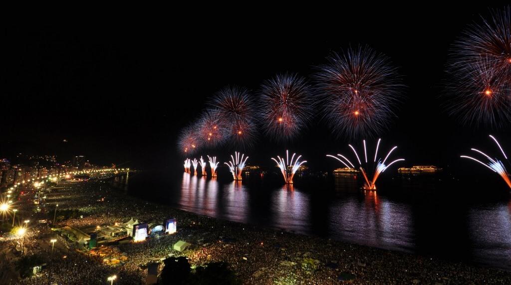 Fiesta fin de año Copacabana