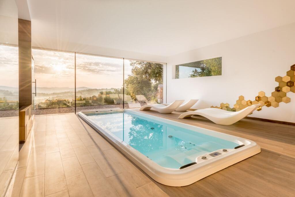 Spa con piscina