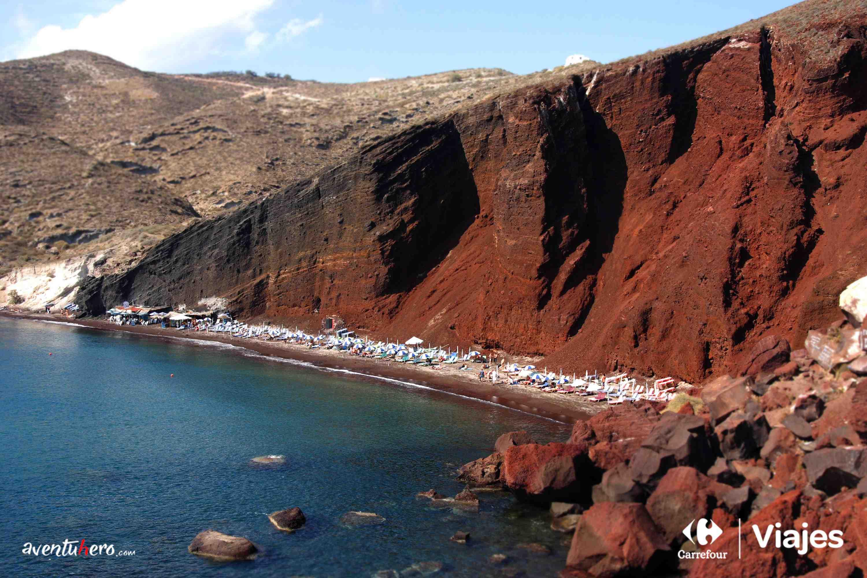 Playa Roja, la playa de Marte