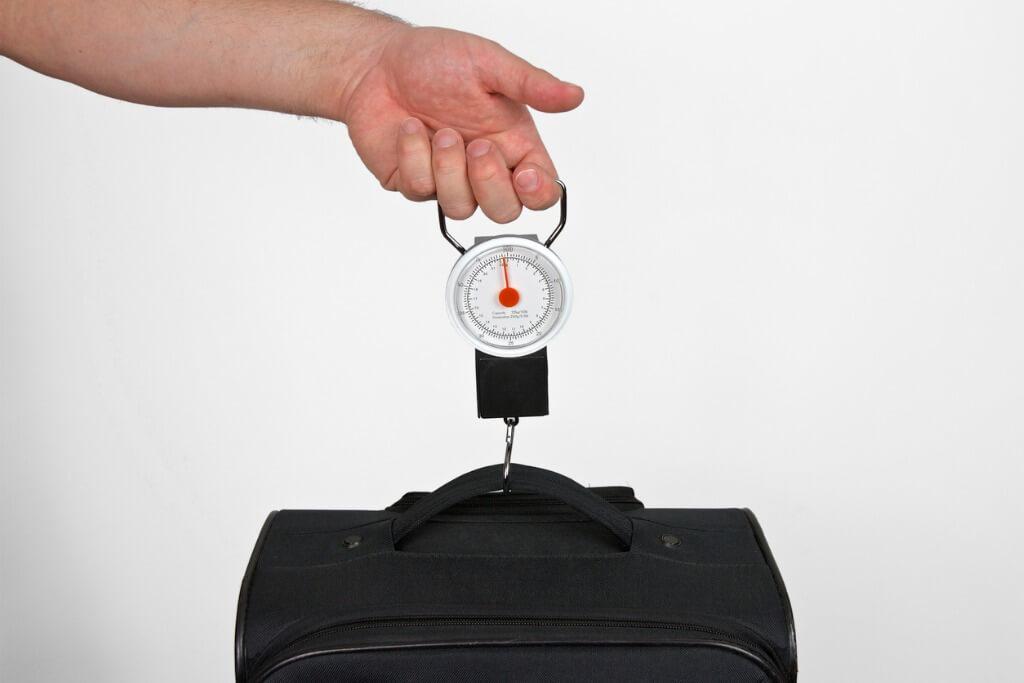 Báscula para maletas