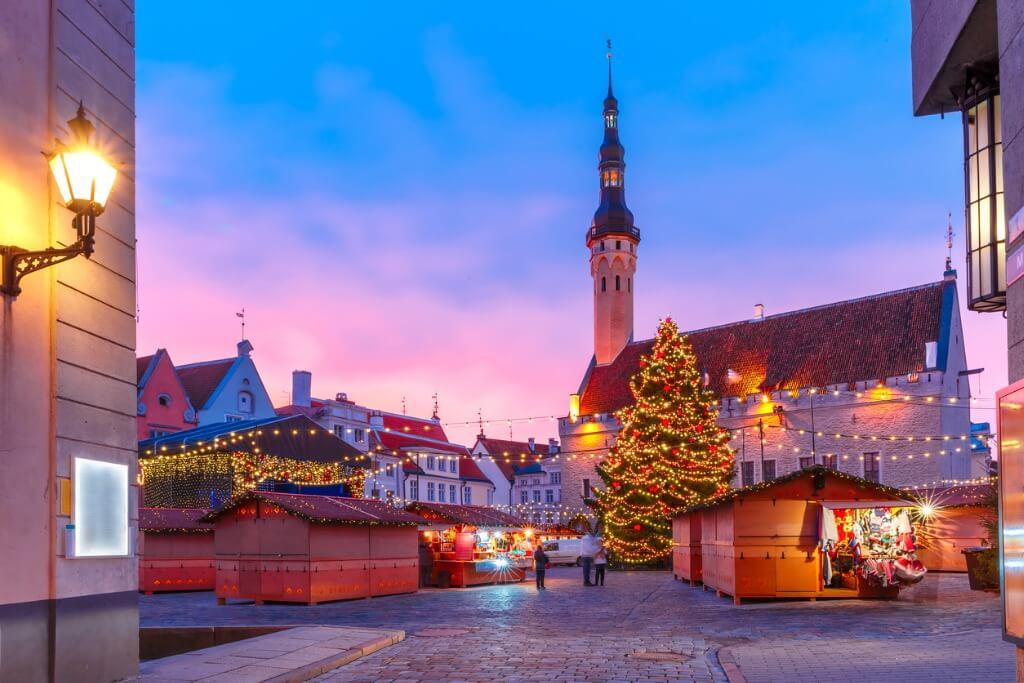 Mercado Navideño de Tallinn