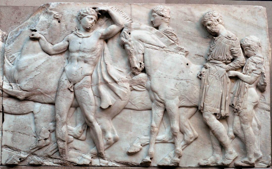 Esculturas Partenón
