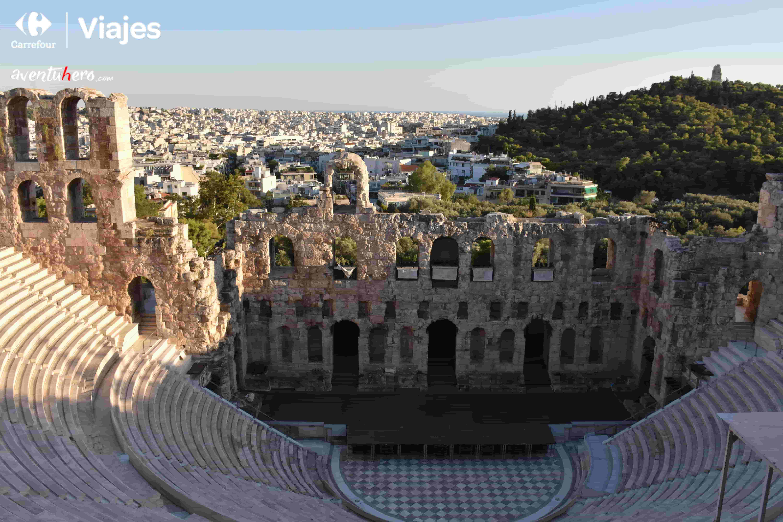 teatro acropolis grecia
