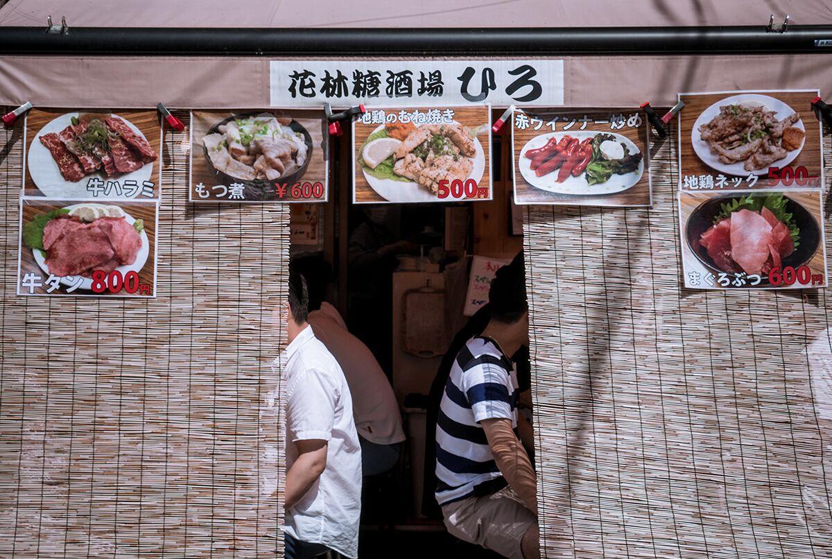 Comer en Tokio Precios de la comida en tokio