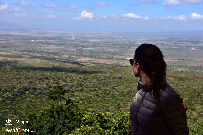 4 Vistas en Kenia