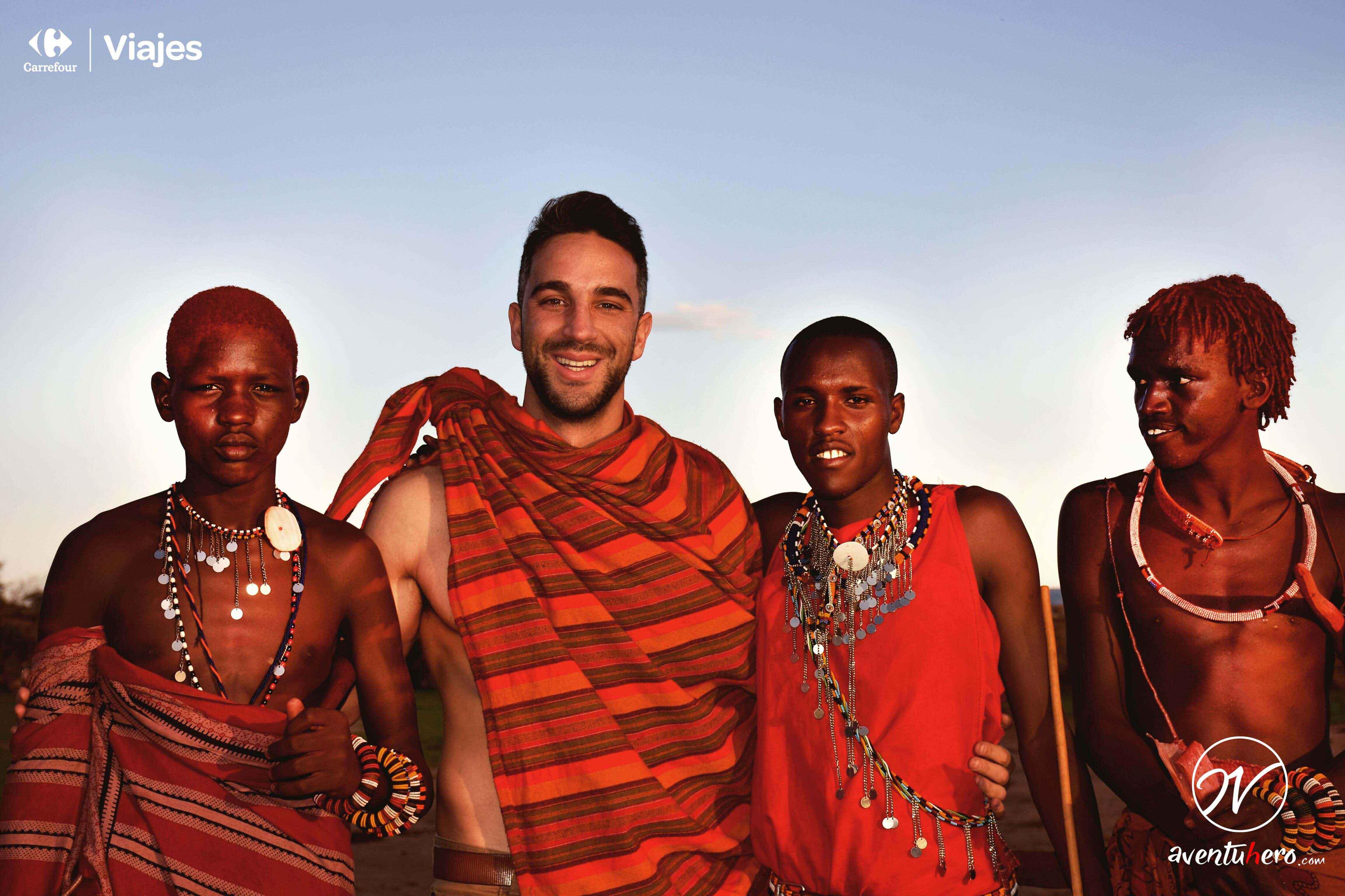 6 Con Tribu Masai