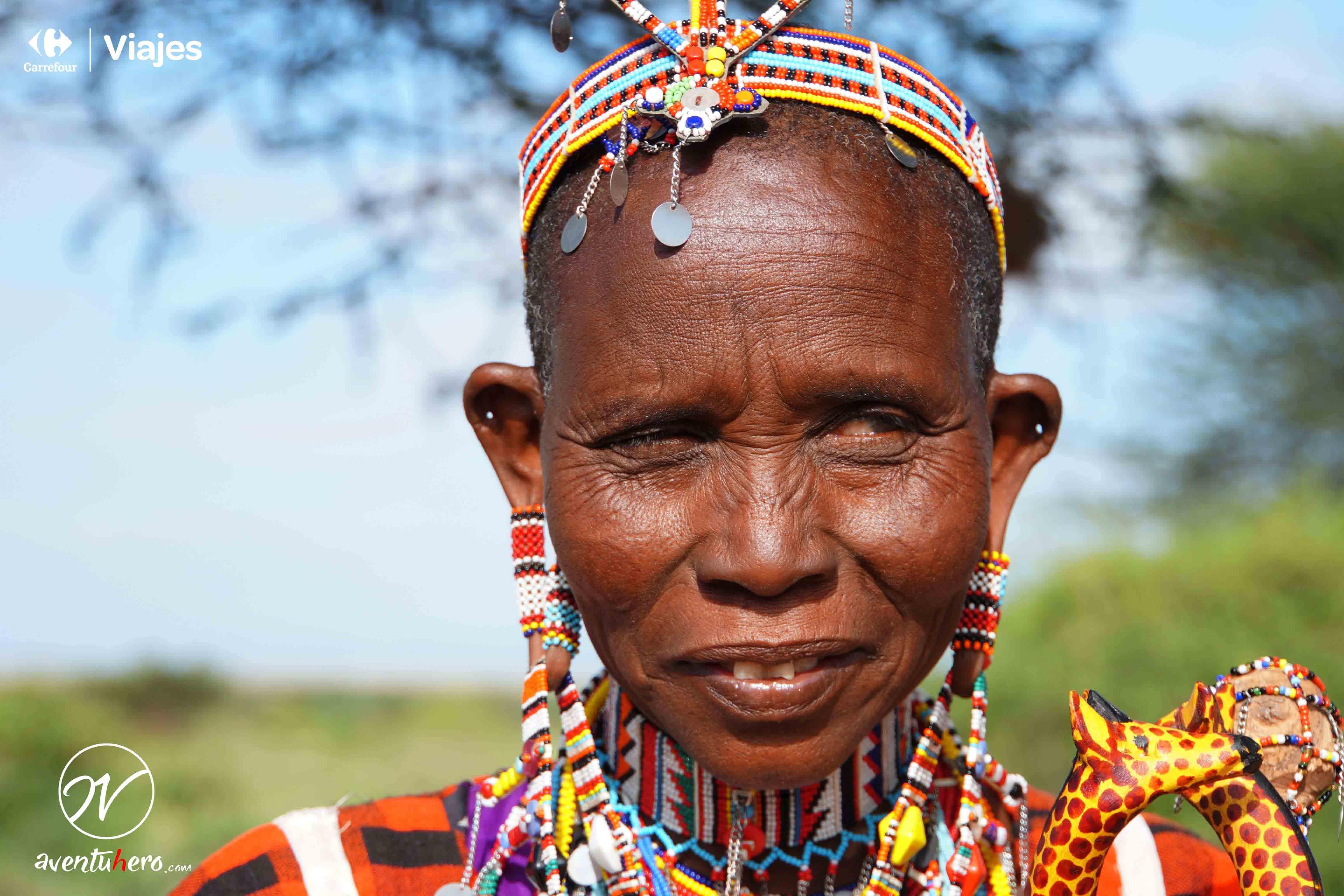7 Mujer Masai