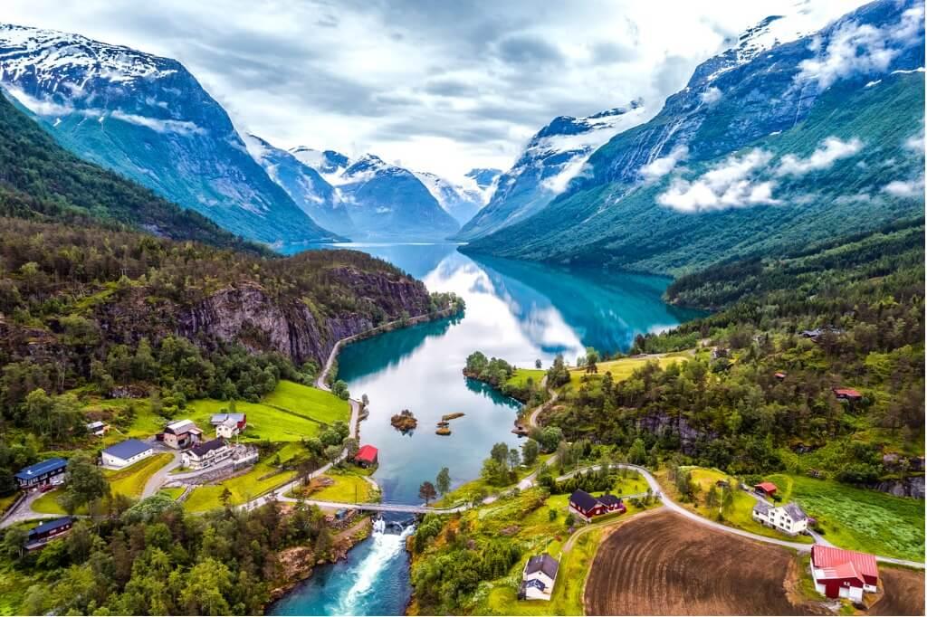 Naturaleza en Noruega