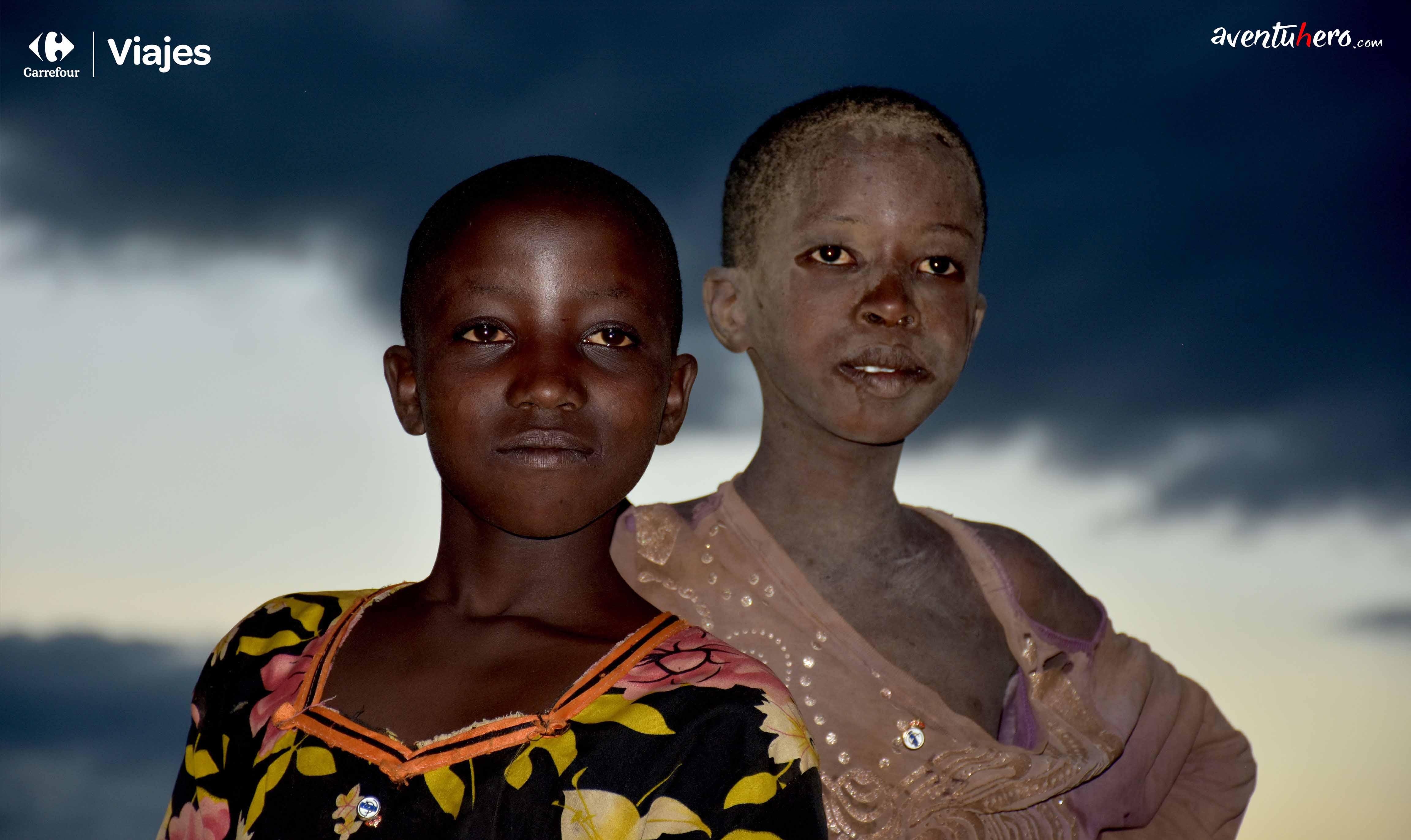 niña africana foto artistica
