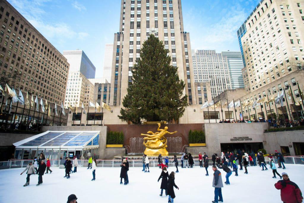 Pista Rockefeller Center