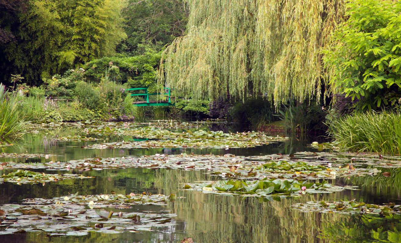 Monet jardín, Giverny, Francia