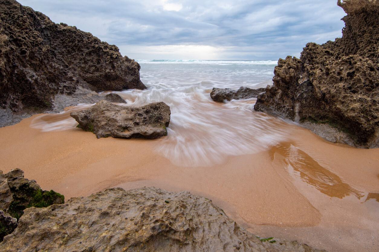 Playa de Valdearenas, Santander