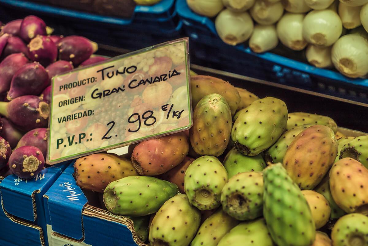 frutas islas canarias