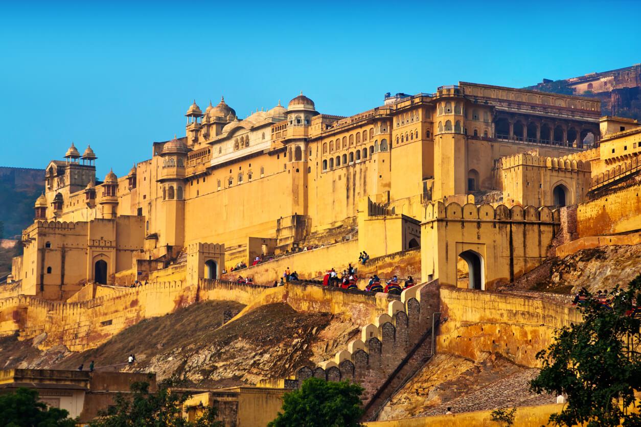 Fuerte Amber de Jaipur, India