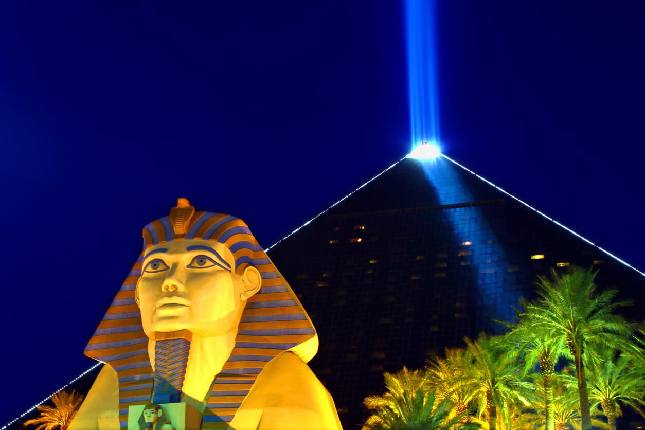 Luxor Hotel Casino, Las Vegas