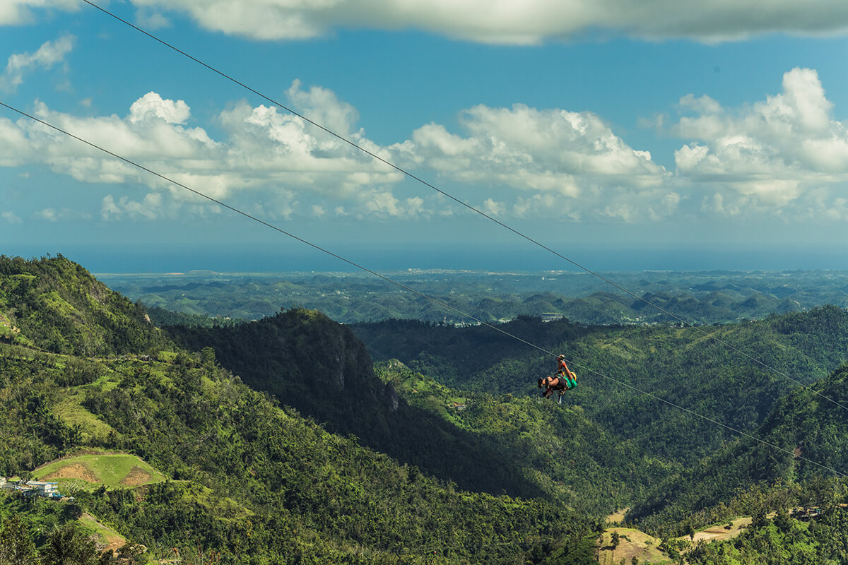 Puerto rico en Familia - hermoso paisaje en Puerto Rico