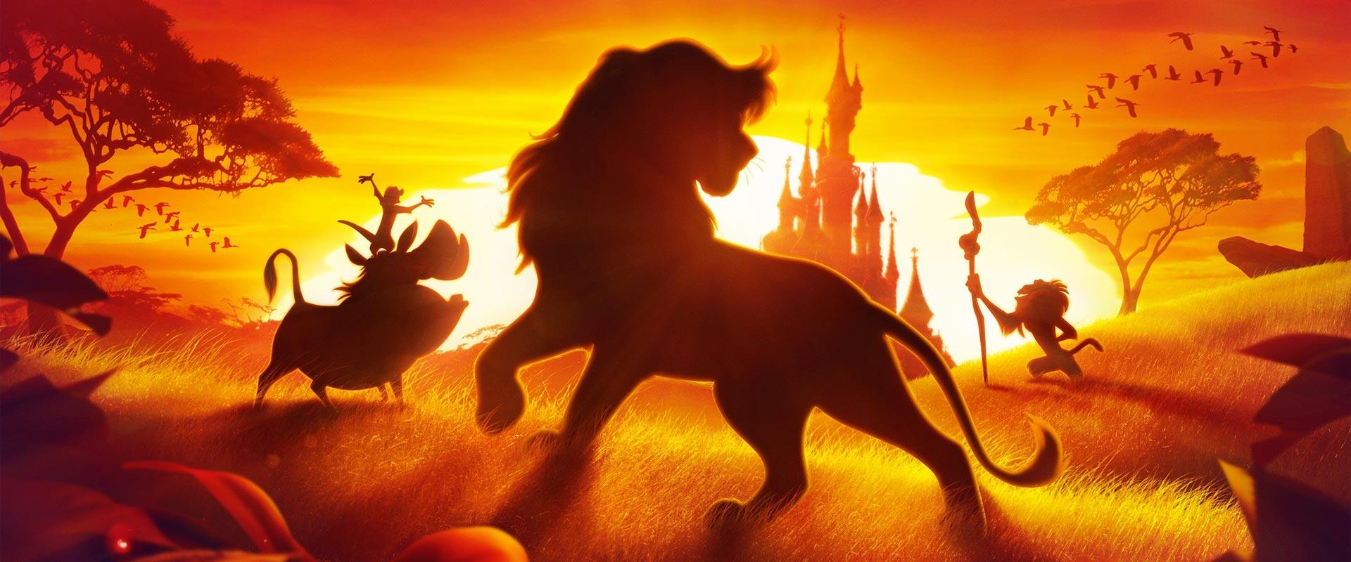El Rey León en disneyland Paris