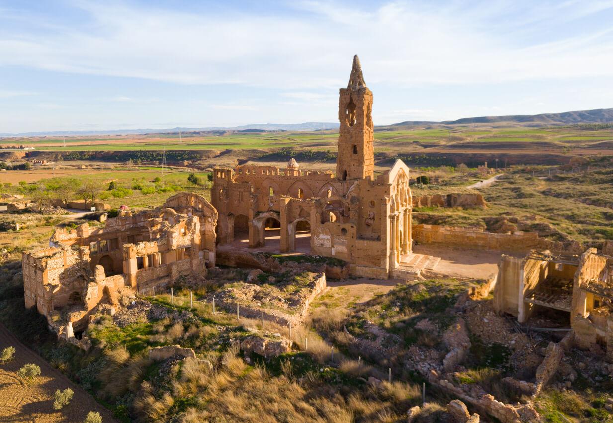Ciudad española Belchite