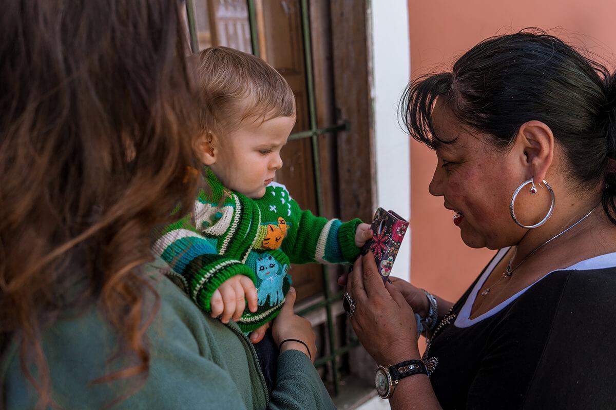 visitar Colombia con un bebe