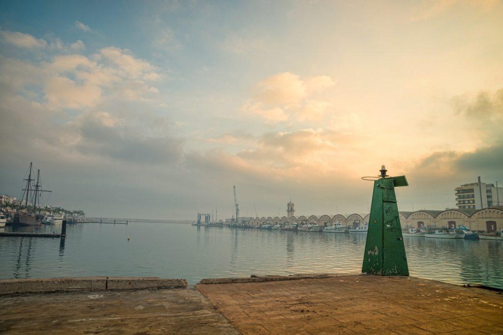 Gandia port