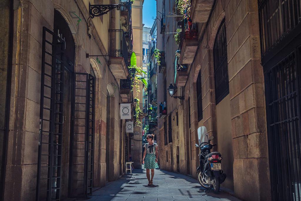 visitar barcelona por sus calles del centro