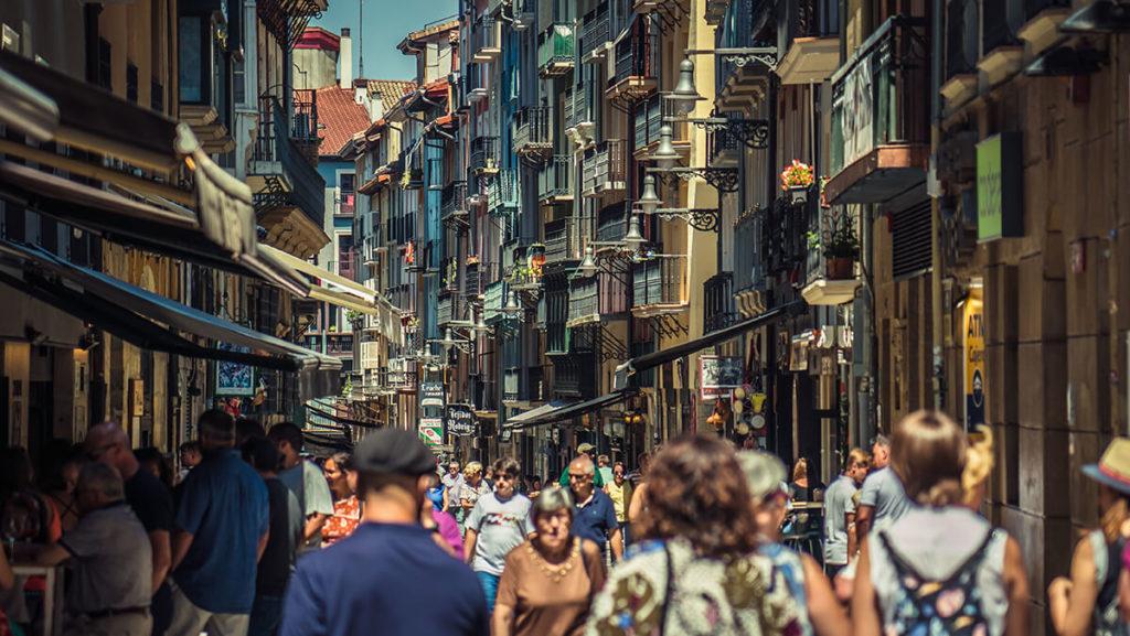 visitar Pamplona por sus calles peatonales