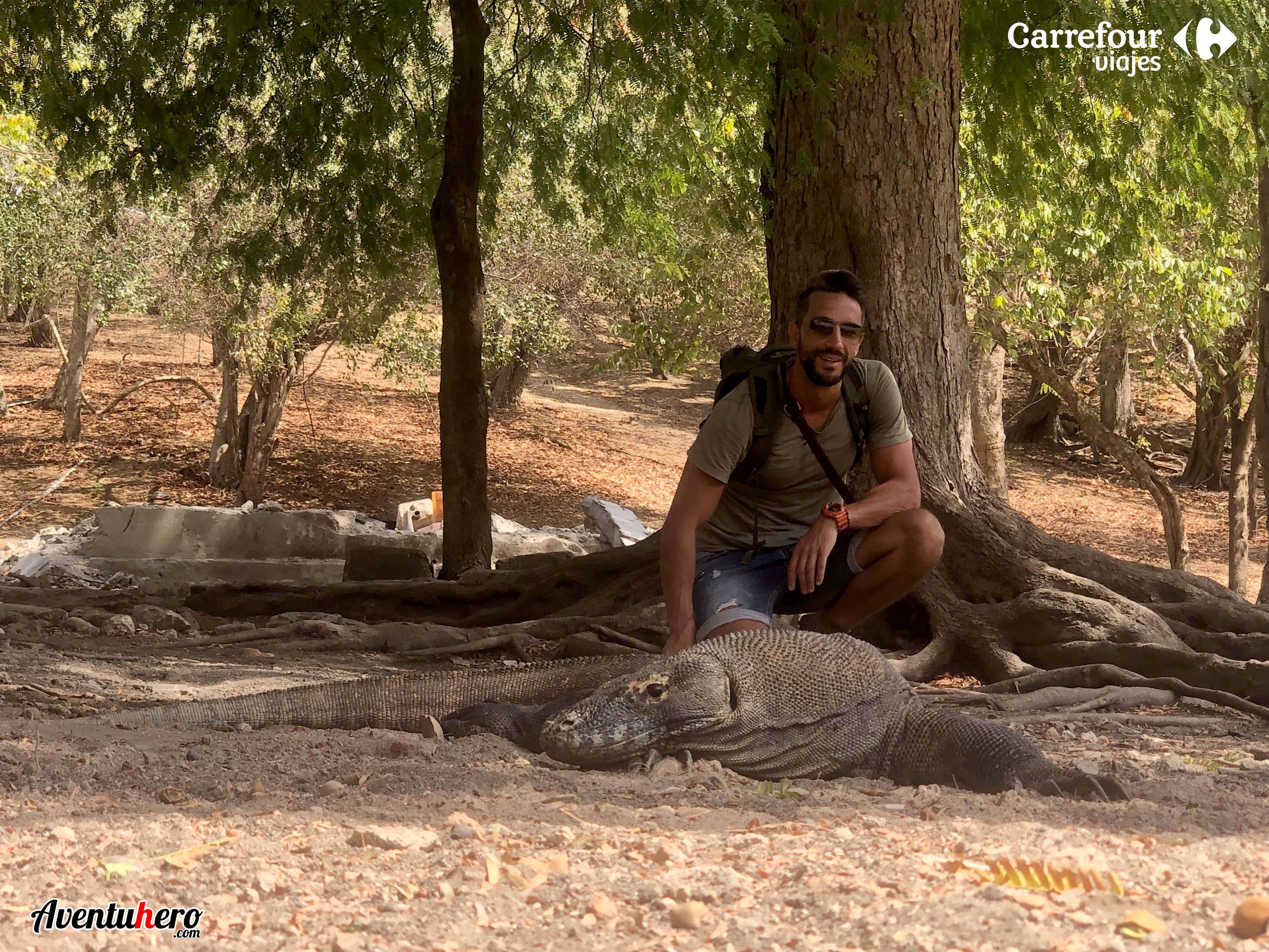 Aventuhero en El parque de Komodo 7