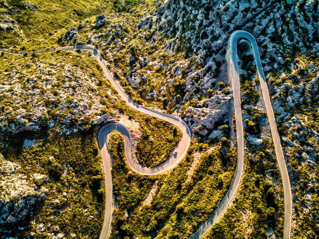 Carretera de Sa Calobra en Mallorca, Tramontana patrimonio