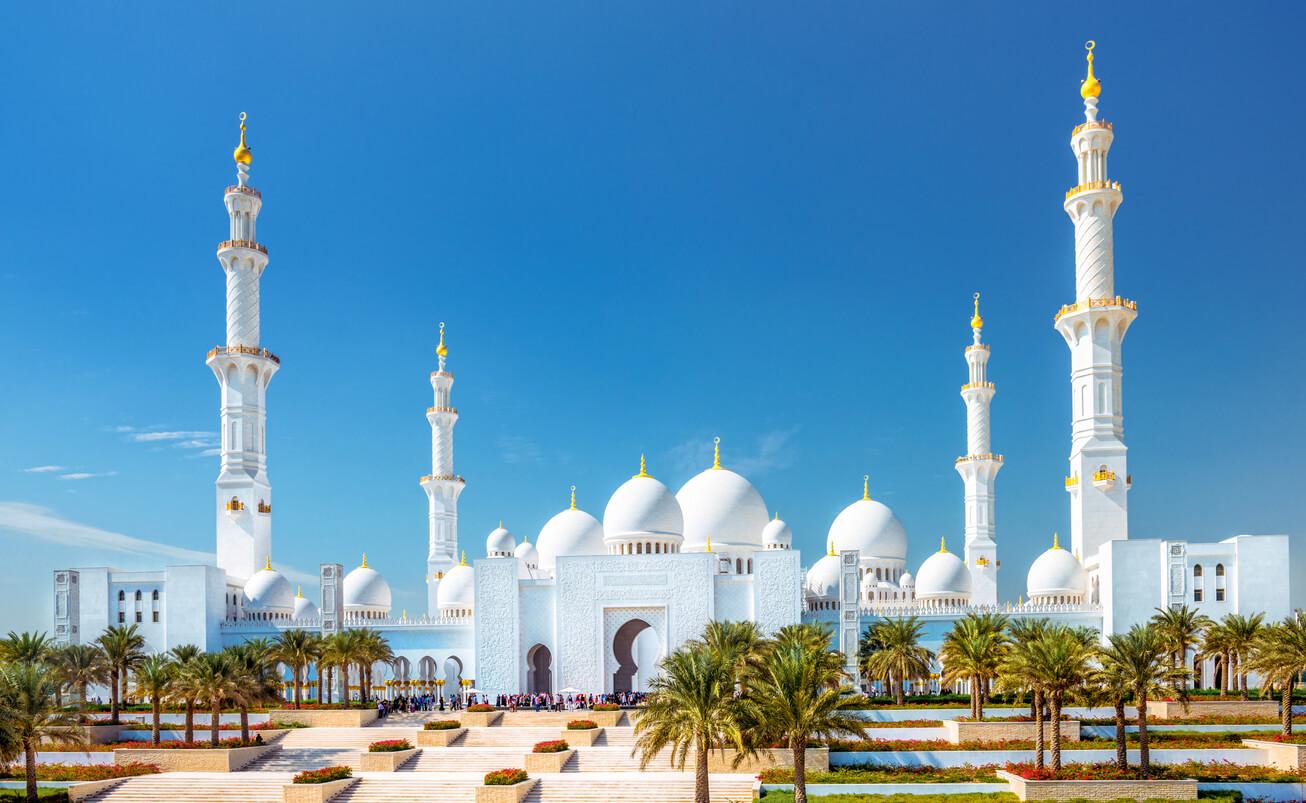 Mezquita Sheikh Zayed Grand Abu Dhabi (UAE)