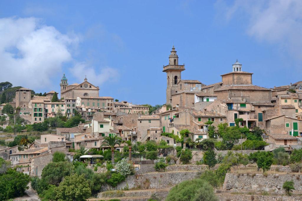 Valldemossa en la isla de Mallorca
