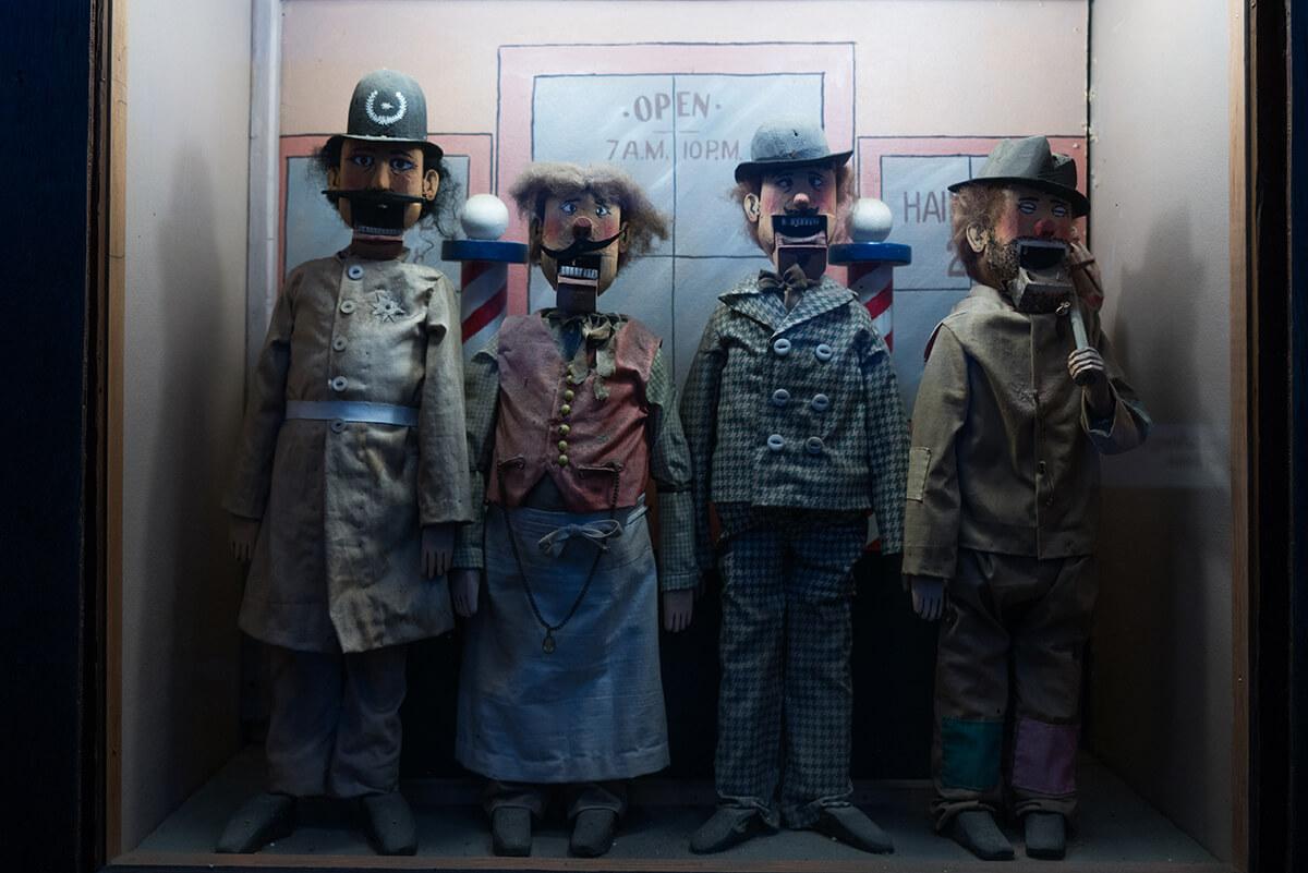 museo mecánico en San Francisco