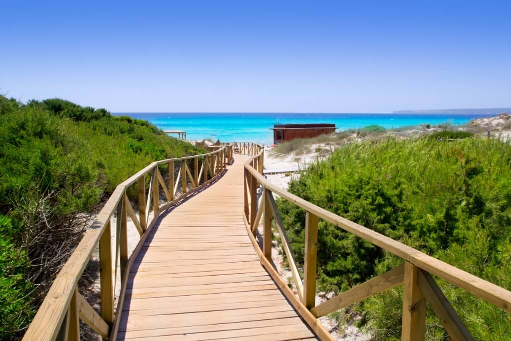Playa Migjorn, Formentera