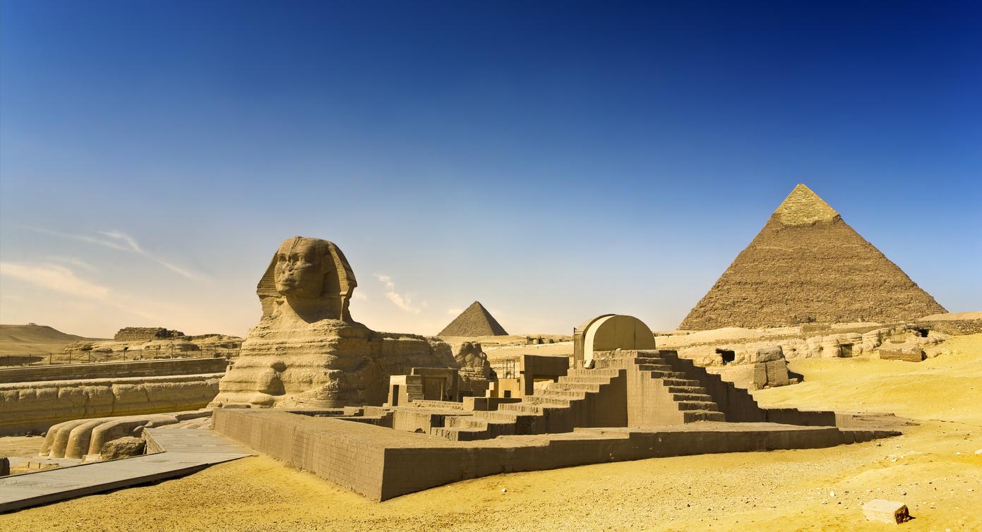 Gran Esfinje en Giza