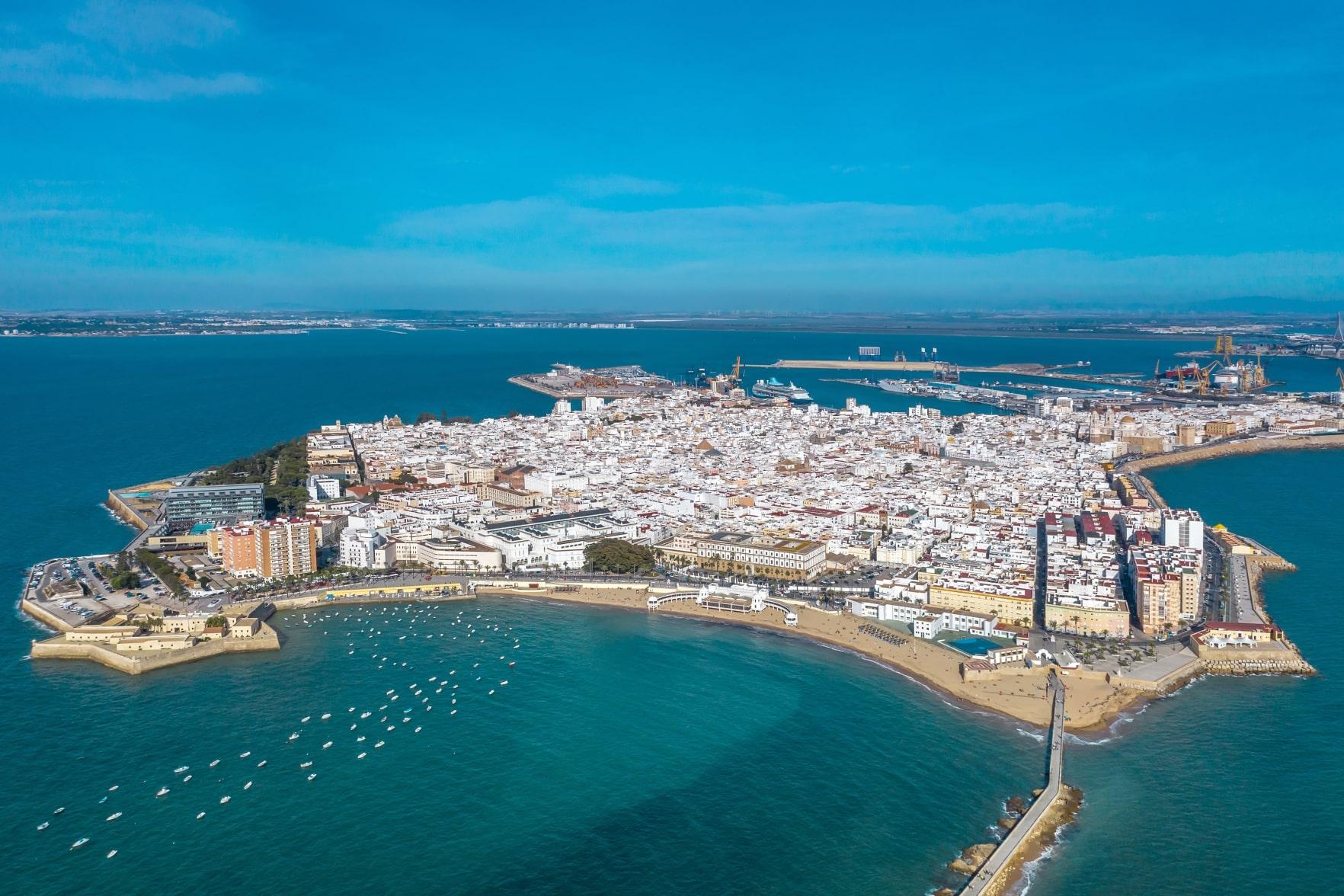 Cádiz desde el cielo