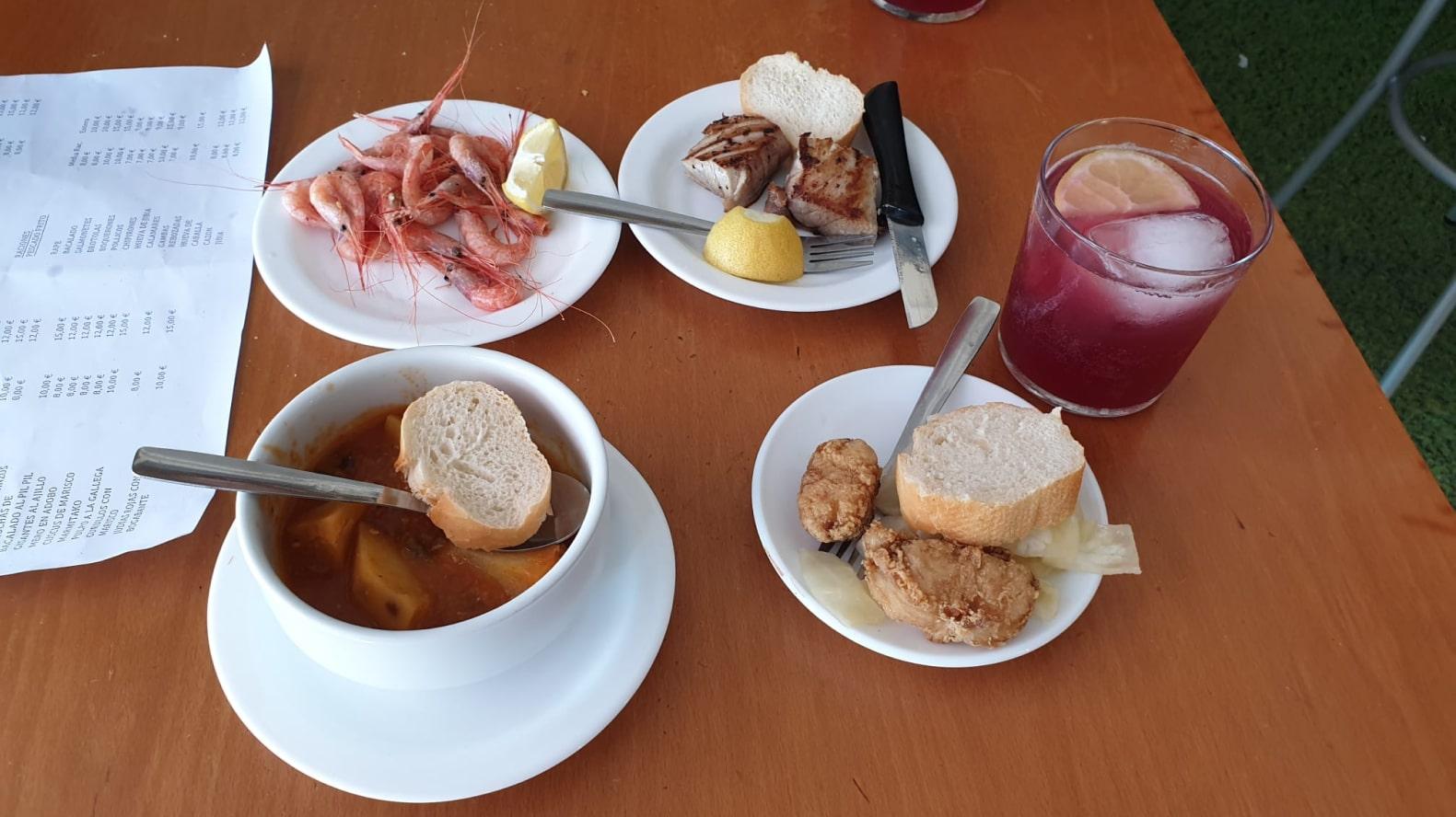 Roquetas de Mar gastronomía tapas