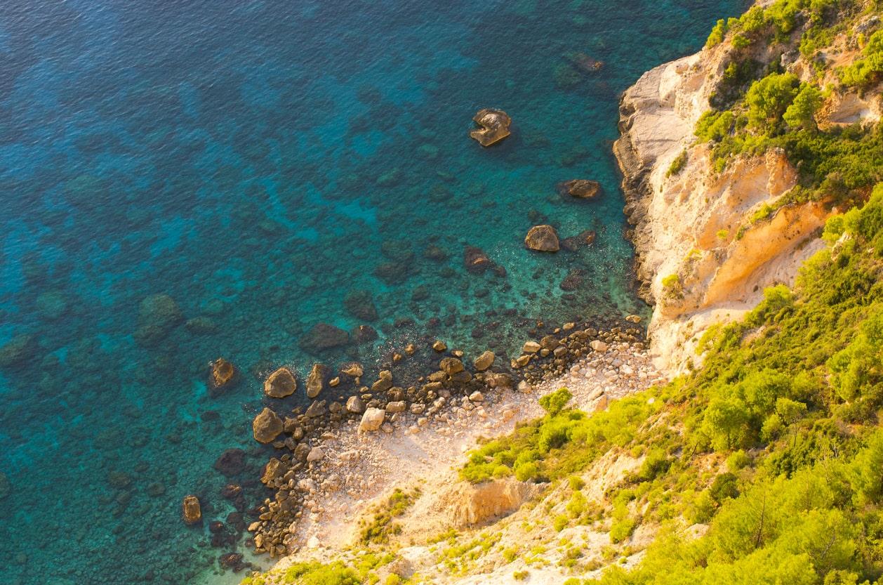 Schiza, Islas Jónicas