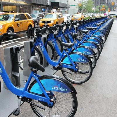 Guía Nueva York, Alquiler bicicletas