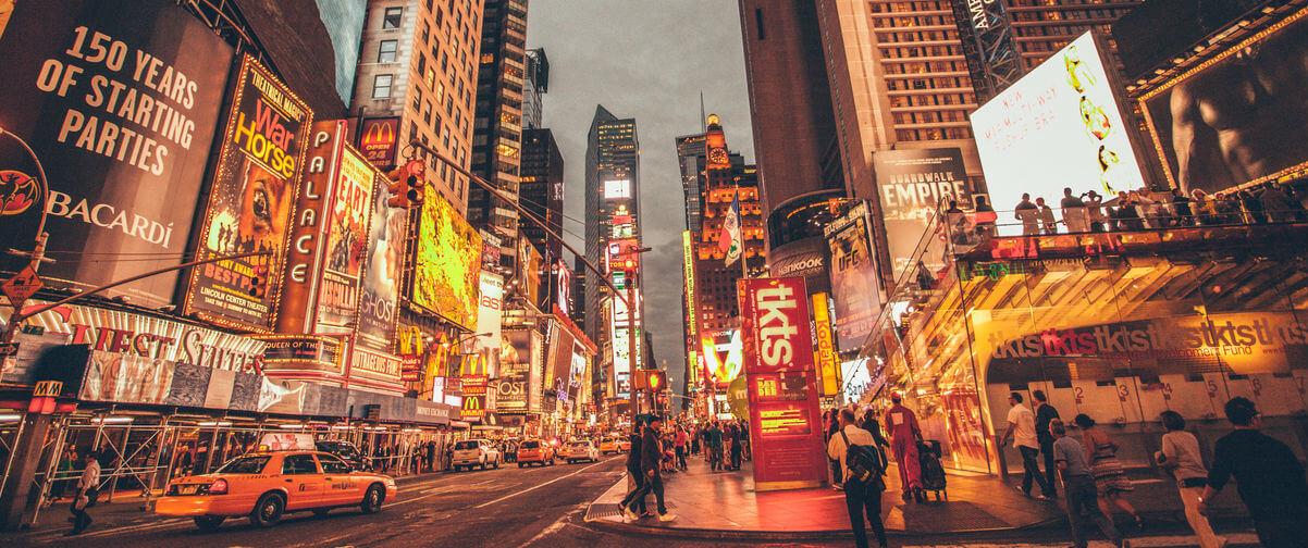Guía Nueva York, Broadway Times Square