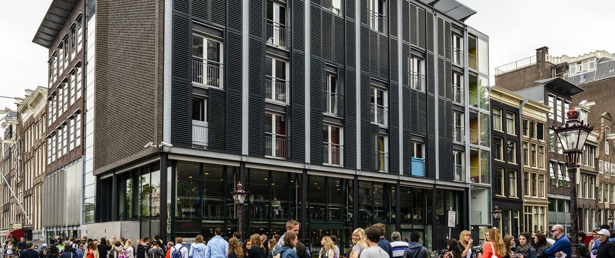 Guía Amsterdam, Casa de Anna Frank