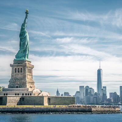 Guía Nueva York, Estatua de la Libertad