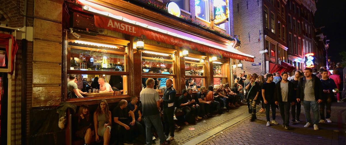 Guía Amsterdam, fiesta barrio rojo