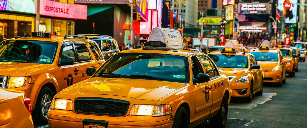 Guía Nueva York, Taxis