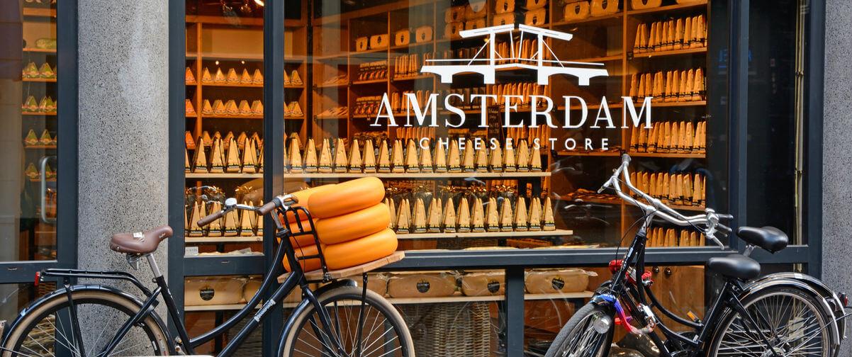 Guía Amsterdam, tienda queso Amsterdam