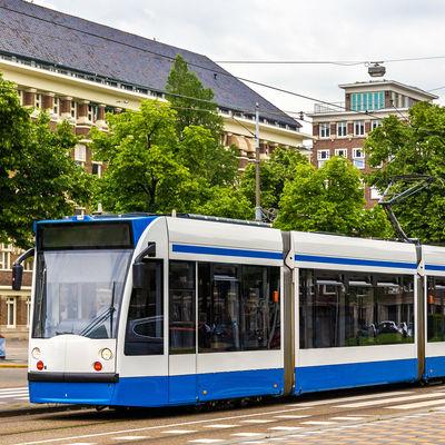 Guía Amsterdam, tranvia Amsterdam