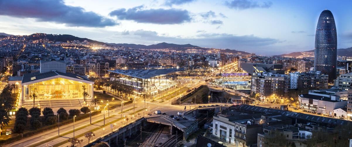 Guía Barcelona, Vistas de Barcelona