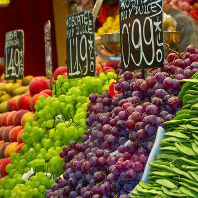 Guía Barccelona, Mercado de la boquería