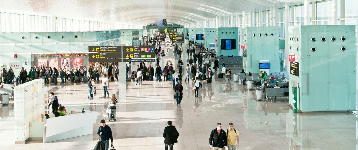 Guía Barcelona, Aeropuerto El Prat