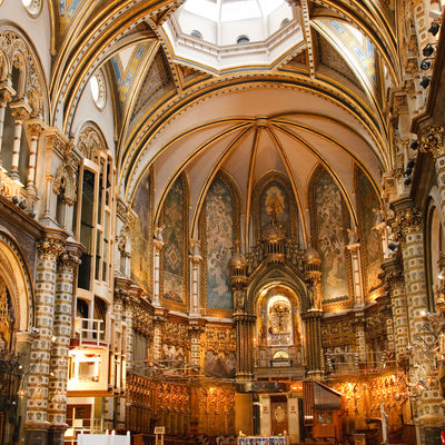 Guía Barcelona, Basilica Montserrat