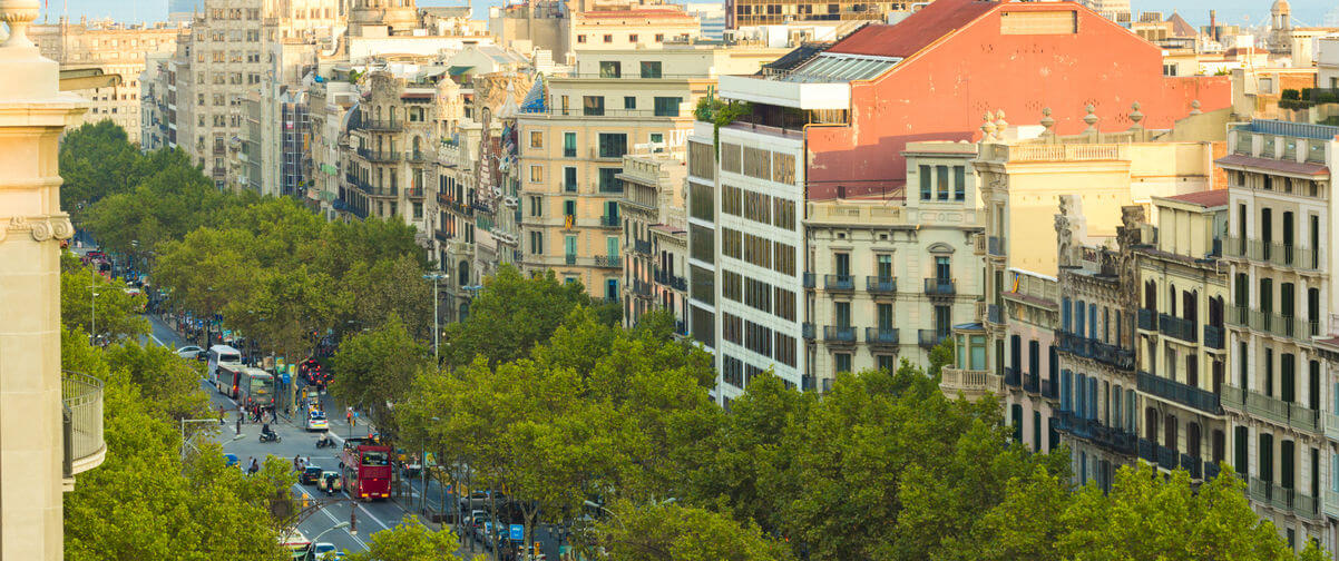 Guía Barcelona, Paseo de Gracia