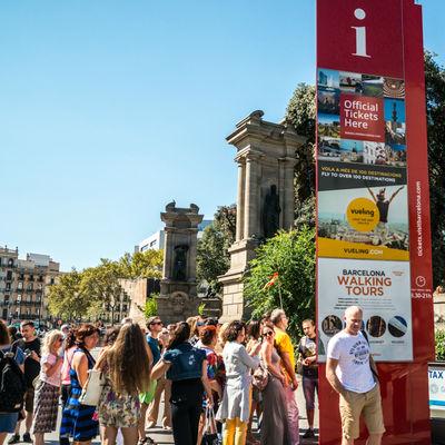 Guía Barcelona, tourists Barcelona